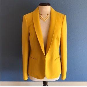 INC Yellow Blazer
